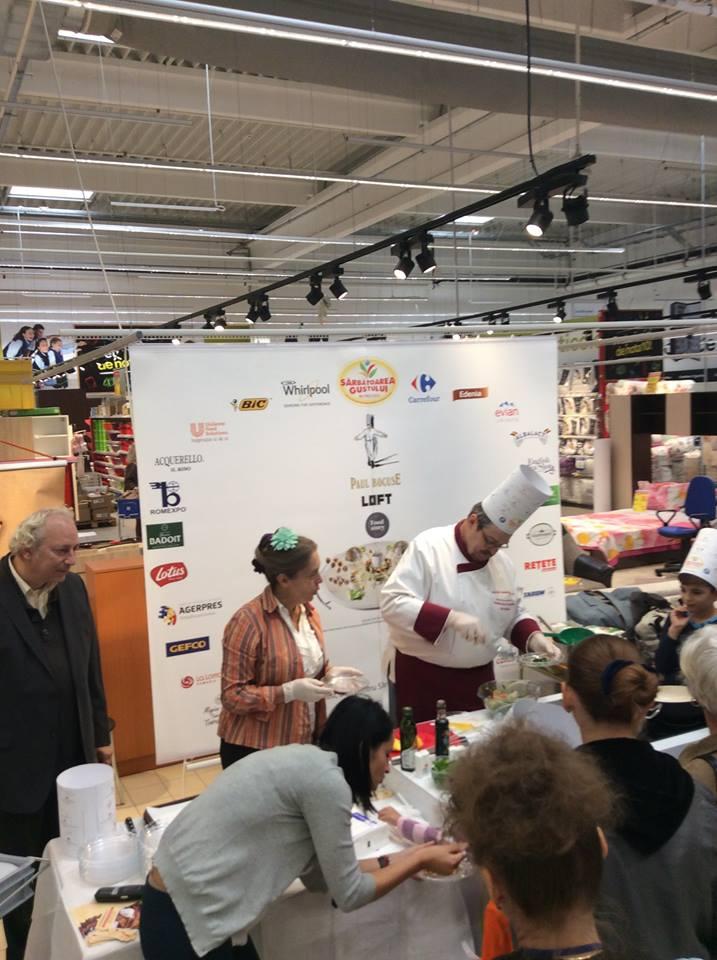 Atelier_Culinar_Sarbatoarea_Gustului_Daniel_Van_der_Veken_si_Marie_Carels_Atelier_Educational_Carrefour_Tg_Jiu_11