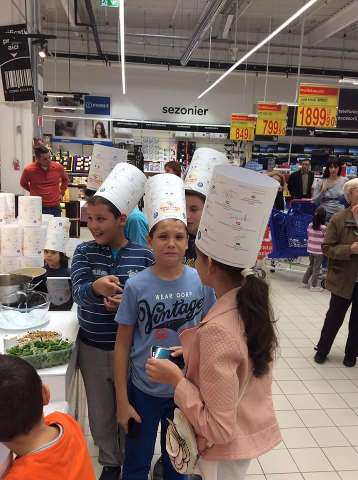 Atelier_Culinar_Sarbatoarea_Gustului_Daniel_Van_der_Veken_si_Marie_Carels_Atelier_Educational_Carrefour_Tg_Jiu_17