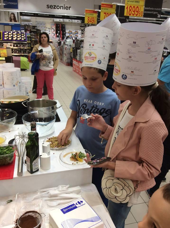 Atelier_Culinar_Sarbatoarea_Gustului_Daniel_Van_der_Veken_si_Marie_Carels_Atelier_Educational_Carrefour_Tg_Jiu_19