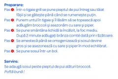 Sarbatoarea Gustului la Carrefour - Piept de pui cu sos Comte