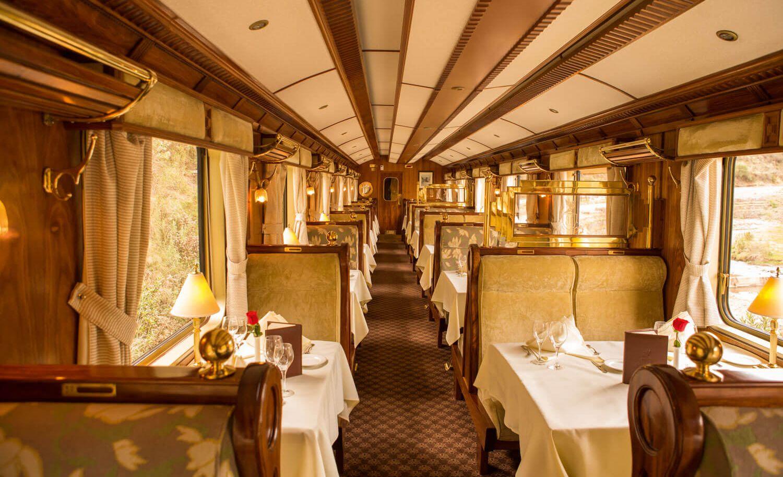 6. Maharajas Express în India;