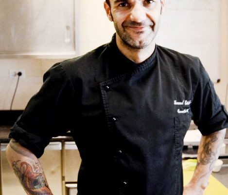 Chef Samuel Le Torriellec
