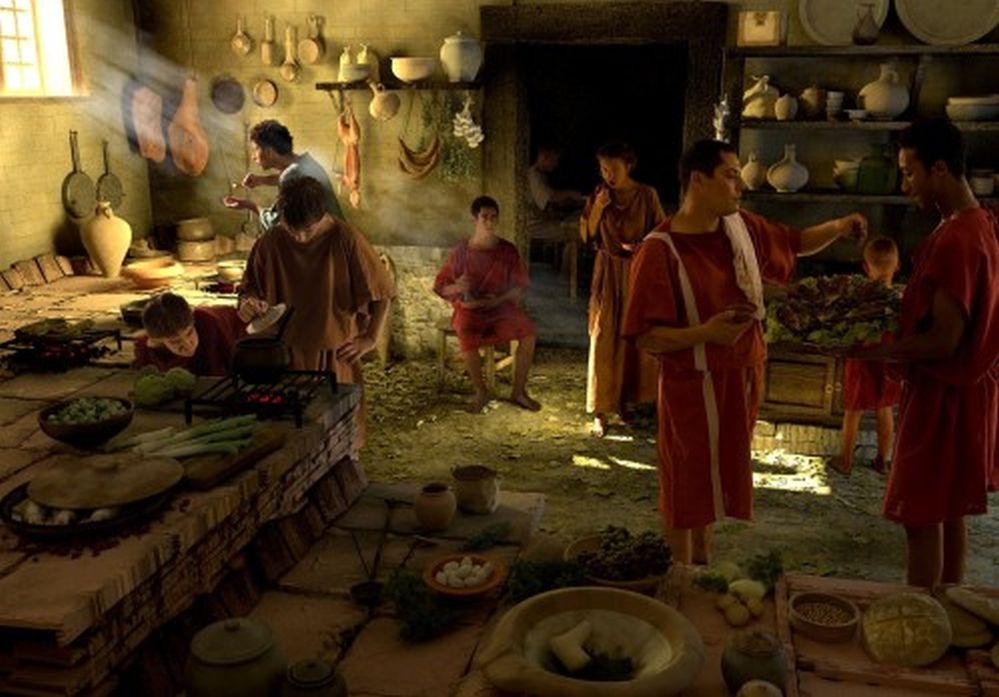 Bucătarii imperiului roman, pionierii gastronomiei
