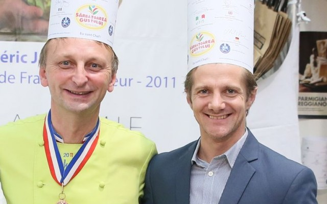 In culisele gastronomiei cu Chef Frederic Jaunault, MOF 2011 si Campion Mondial in carving.