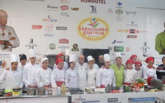 Club de Chefs – Master Class la Sarbatoarea Gustului cu Chefs Meilleur Ouvrier de France