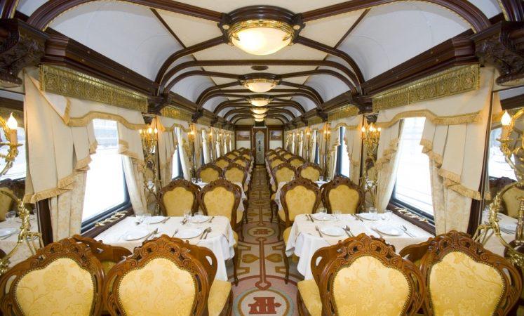 11. Golden Eagle Trans-Siberian Express în Rusia
